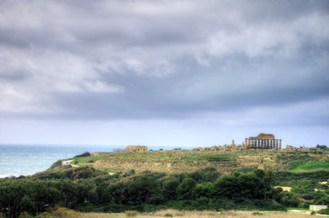 HDR image of the Selinunte temples 1