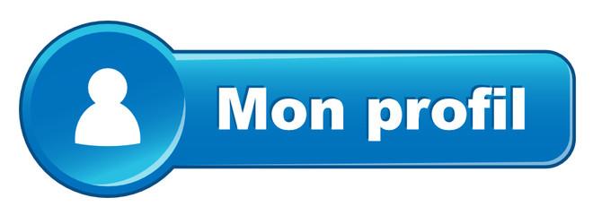 """Bouton Web """"MON PROFIL"""" (compte utilisateur préférences options)"""