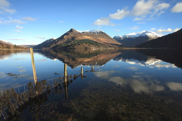 Pap of Glencoe and Loch Leven in Lochaber.