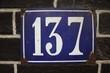 Number 137