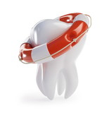 Fototapety tooth help Life Buoy
