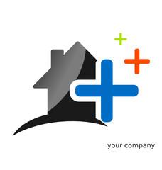 Logo maison plus