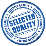 Selected quality stamp