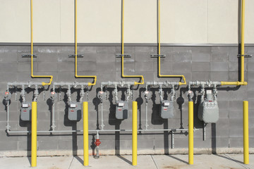 Multiple Gas meters