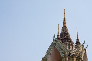 Tip monastery roof..