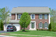 Front Brick Single Family House Home Suburban MD