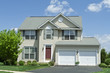 Front Vinyl Siding Single Family House Home MD
