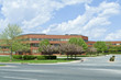 New Brick Office Building Trees Suburban MD USA