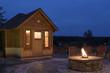 Leinwandbild Motiv Hotel Sauna