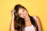 Playful smiling casual young woman - 30107928