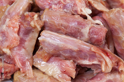 raw chicken neck