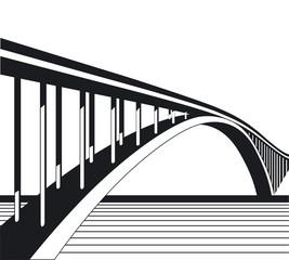 Brücke und Fluß