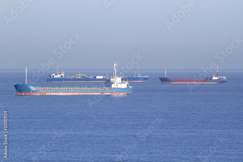 ships on anchor English channel