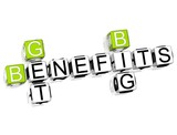 Get Big Benefits Crossword poster
