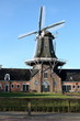 Corn and oil mill in Roderwolde in the Netherlands in Europe