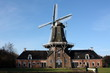 Oil and Corn mill in Roderwolde in the Netherlands