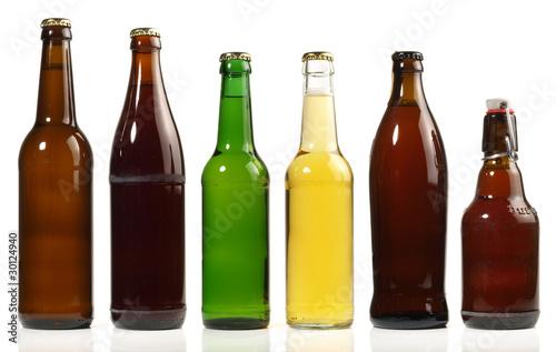 In de dag Buffet, Bar Bierflaschen - einzeln