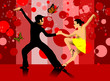 dance in the red hall