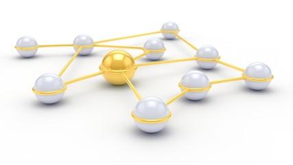 Zusammen im Netzwerk