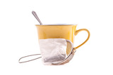 Straining and Steeping a Tea Bag