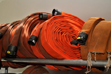 Orange Fire Hose