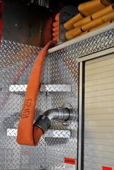 Hoses on a Fire Truck