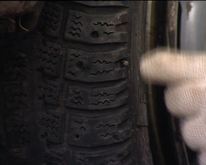 Wheel puncture