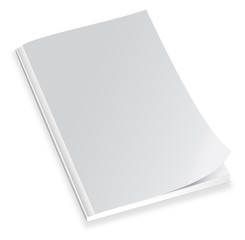 Magazine with blank cover