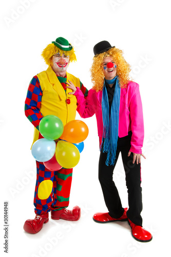 Happy clowns
