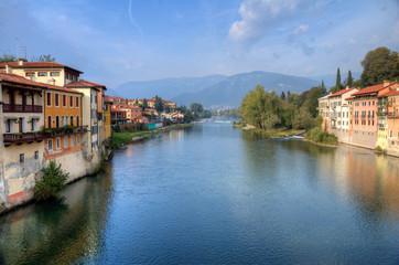 Bassano del Grappa Brenta river