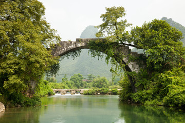 Ancient stone bridge