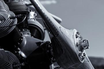 Sternmotor Doppeldecker