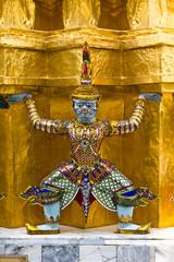 Guardian of Wat Pra Kaew Grand Palace Bangkok