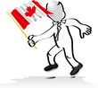 Canadian Flag Man