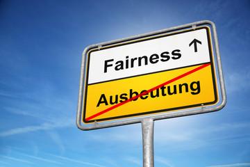 Fairness Ausbeutung