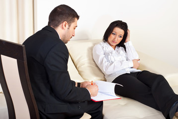 Psychiatrist helps depressed women