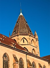 Tour de l'Église Saint-Thomas de Strasbourg - Thomaskirche