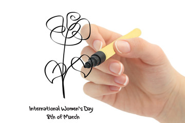 On March, 8th - the international womens day
