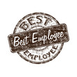 Best employee rubber stamp