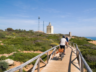 Carril bici en Roche, Conil de la frontera