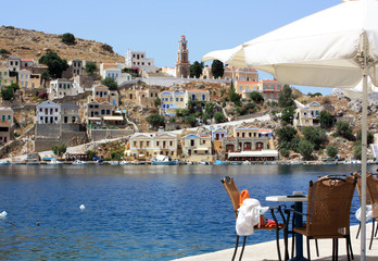 View from Symi
