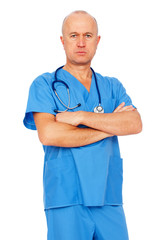 medical doctor in uniform