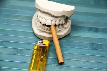 Rauchen schadet