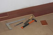 tools for install a hardwood floor