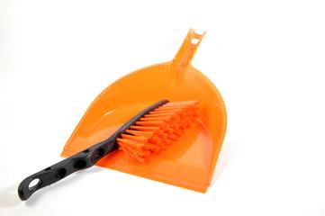 kehrschaufel orange