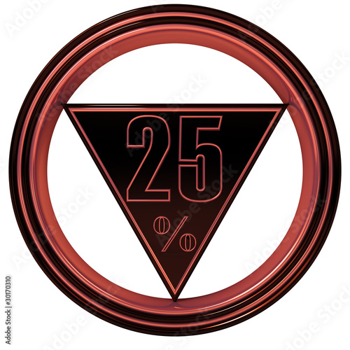 Red metal Twenty Five Percent