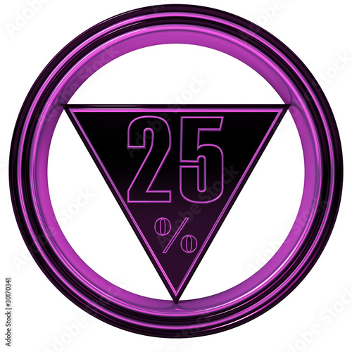 Magenta metal Twenty Five Percent