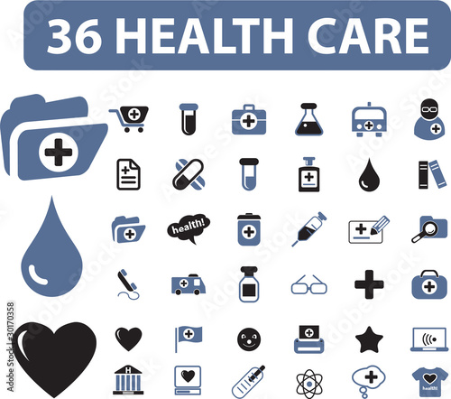 36 health care signs