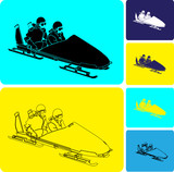 bobsled vector