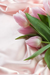tulips and silk